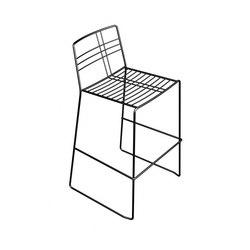 Tartan stool | Taburetes de bar | DVO