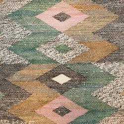 Small Square Vintage Swedish Marta Maas Kilim Rug | Rugs | Nazmiyal Rugs