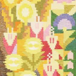 Small Vintage Swedish Scandinavian Kilim Rug by Ingegerd Silow   Rugs   Nazmiyal Rugs