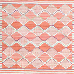 Square Size Vintage Scandinavian Rug by Marta Maas | Tappeti / Tappeti d'autore | Nazmiyal Rugs