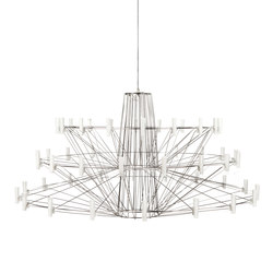 coppelia | Ceiling suspended chandeliers | moooi