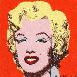 Vintage Andy Warhol Marilyn Monroe Rug | Tappeti / Tappeti d'autore | Nazmiyal Rugs