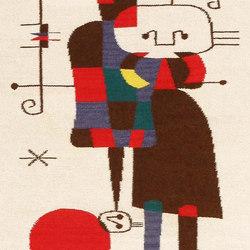 Vintage Inspired Joan Miro Tapestry Rug | Rugs | Nazmiyal Rugs