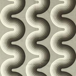 Vintage Kurve Verner Panton Textile | Tappeti / Tappeti d'autore | Nazmiyal Rugs