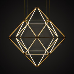 Stickbulb Custom | X Diamond | Suspended lights | STICKBULB