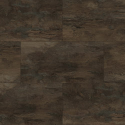 Lithic Stone - Dark Brown | Plastic flooring | Aspecta