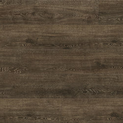 Tally Oak - Smoke Brown | Plastic flooring | Aspecta