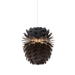 Zappy Smoked Oak Small | Suspended lights | SCHNEID