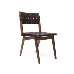 Woven Leather Dining Chair | Sedie ristorante | Smilow Design