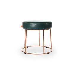 Cody copper hocker | Poufs | Jess