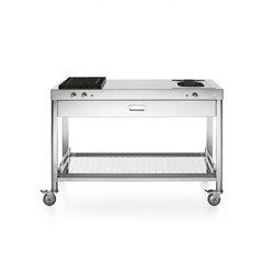 100 Kitchen Carts | Mobile kitchen units | ALPES-INOX