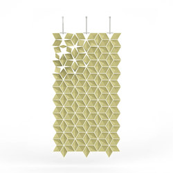 Hanging Room Divider Facet - dijon | Folding screens | Bloomming