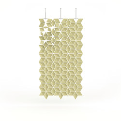 Hanging Room Divider Facet - dijon | Sistemi divisori stanze | Bloomming