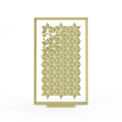 Freestanding Room Divider Facet - dijon | Folding screens | Bloomming