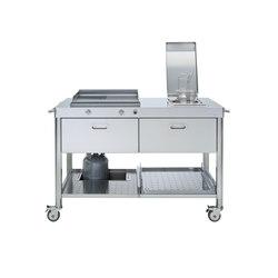 Outdoor Küchen 130 | Modulküchen | ALPES-INOX