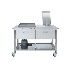 Outdoor Cucine 130 | Cucine componibili | ALPES-INOX