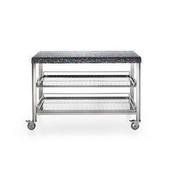 130 Kitchen Carts | Mobile kitchen units | ALPES-INOX