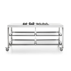 190 Kitchen Carts | Mobile kitchen units | ALPES-INOX