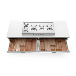 Cocinas 190 | Kitchen organization | ALPES-INOX