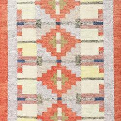Vintage Scandinavian Swedish Kilim | Tappeti / Tappeti d'autore | Nazmiyal Rugs