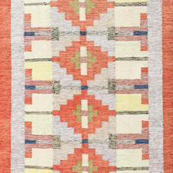 Vintage Scandinavian Swedish Kilim | Rugs | Nazmiyal Rugs