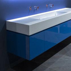 Lunaria | Lavabos mueble | antoniolupi