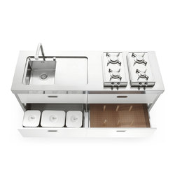 190 Kitchens | Compact kitchens | ALPES-INOX