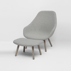 About A Lounge Chair AAL92 | Sillones lounge | Hay