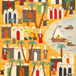 Vintage Swedish Folk Art Tapestry | Tappeti / Tappeti d'autore | Nazmiyal Rugs