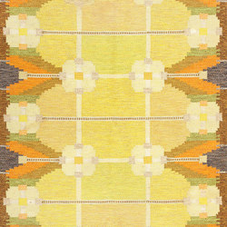 Vintage Swedish Kilim by Ingegerd Silow | Rugs / Designer rugs | Nazmiyal Rugs