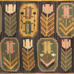 Vintage Swedish Kilim by Marta Maas Fjetterstrom | Rugs | Nazmiyal Rugs