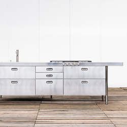Kitchen Islands 280 | Cuisines compactes | ALPES-INOX