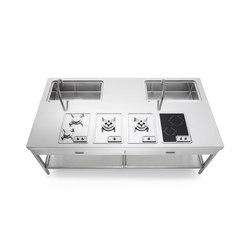 250 Kitchen Islands | Cuisines compactes | ALPES-INOX