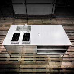 Kitchen Islands 250 | Compact kitchens | ALPES-INOX