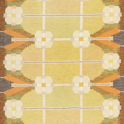 Vintage Swedish Rug By Ingegerd Silow | Rugs / Designer rugs | Nazmiyal Rugs