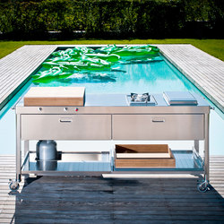Outdoor 190 Kitchens | Mobile kitchen units | ALPES-INOX