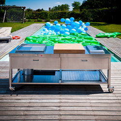 Outdoor 190 Kitchens | Cuisines mobiles | ALPES-INOX