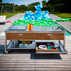 Outdoor 190 Kitchens | Modular kitchens | ALPES-INOX