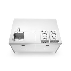 Kitchen Island 190 | Compact kitchens | ALPES-INOX