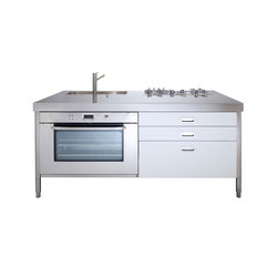 Kitchen Islands 190 | Compact kitchens | ALPES-INOX