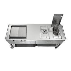 Outdoor Cocinas 190 | Cocinas móviles | ALPES-INOX