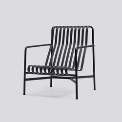 Palissade Lounge Chair High | Gartensessel | Hay