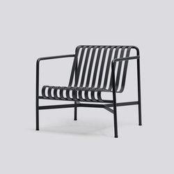 Palissade Lounge Chair Low | Garden armchairs | Hay