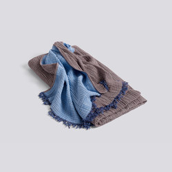Crinkle Bedspread bordeaux | Decken | Hay