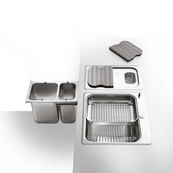 Fregadero | Kitchen organization | ALPES-INOX
