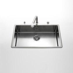 Sinks | Éviers de cuisine | ALPES-INOX