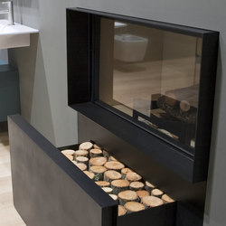 Skemabox | Wood burning stoves | antoniolupi