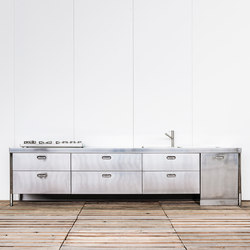 Custom Made Kitchens | Compact kitchens | ALPES-INOX