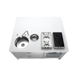 Kitchens Islands 160 | Cuisines compactes | ALPES-INOX