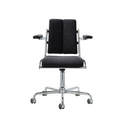 D12 Desk chair with armrests | Chairs | TECTA